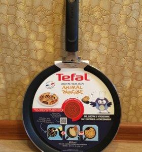 Сковорода блинная Tefal с Совой новая