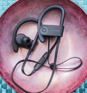 Беспроводные наушники PowerBeats3, чёрный цвет