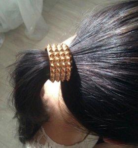 Резинка с держателем для волос
