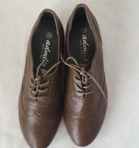 новые туфли ботинки