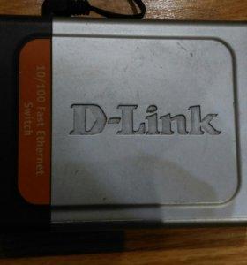Коммутатор D-link DES 1005d