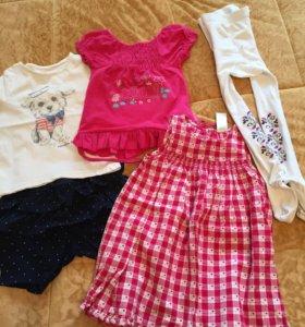 Пакет вещей на девочку 2-3х лет
