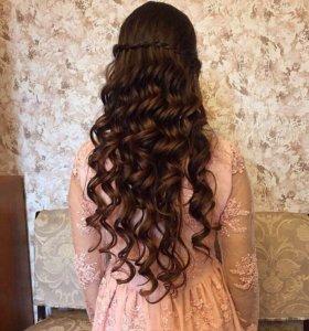 Представляю парикмахерские услуги(укладки ,косы )