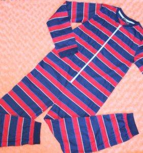 Новая детская пижама для мальчика