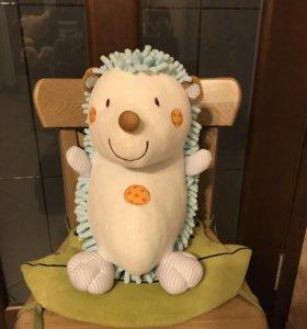 Мягкая игрушка Ёжик-погремушка