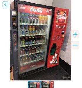 Вендинговый аппарат с холодильником