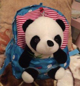Новый Детский рюкзак с игрушкой в наличие 4 шт