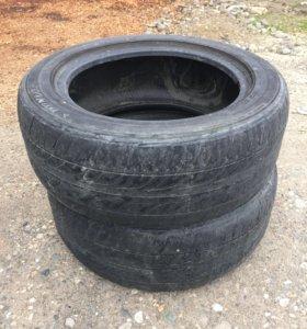 2 шины 215/55/r16 Dunlop летние