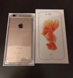 iPhone 6s 64gb (розовое золото)