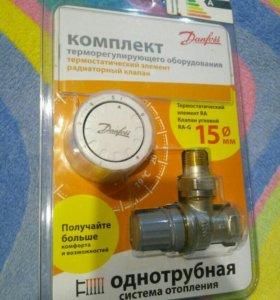 Радиаторный клапан уговой