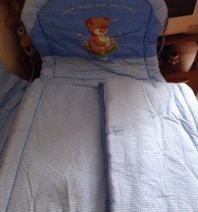Продаю бортик для детской кроватки
