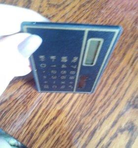 Калькулятор, кредитка, тонкий. Новый.