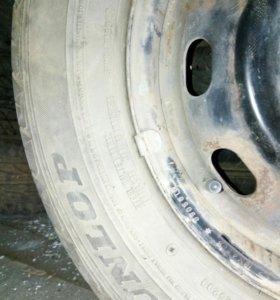Колеса, шины на дисках