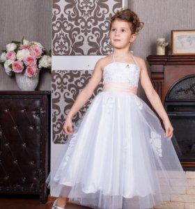 Детское платье нарядное на выпускной