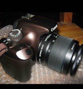 Продам зеркальный фотоаппарат Canon EOS1100d