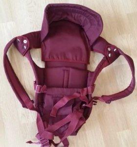 Новый рюкзак-кенгуру.