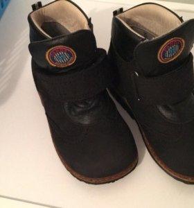 Ортопедические ботинки 25 го размера!!!