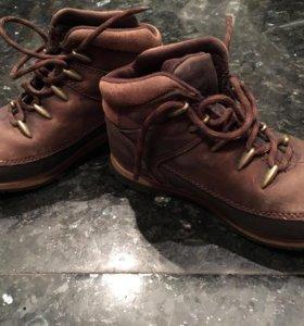Ботинки осенне-зимние, натуральная кожа, 31