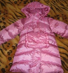 Зимнее пальто на девочку!