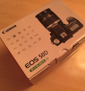 Зеркалка новая CANON EOS 50D