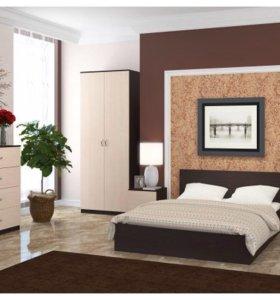 Новый! спальный гарнитур с матрасом