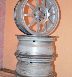 Кованные диски Slik R14 для автомобиля Lada