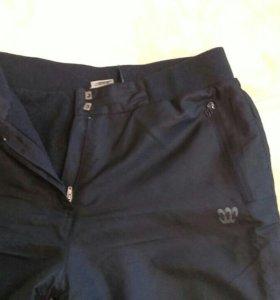 Утепленные болоневые штаны