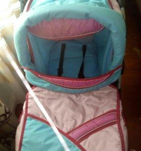 Детская коляска  зима лето, переноска, сумка