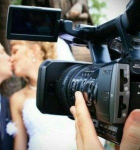 Видеосъёмка свадьбы, мероприятий