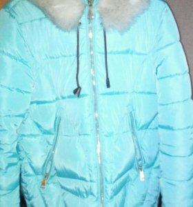 Продам куртку на зиму состояние новой