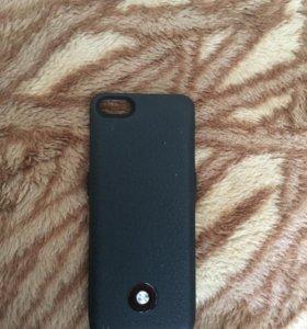 Чехол зарядка на Айфон 5