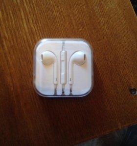 ориг наушник от айфон 5 5s
