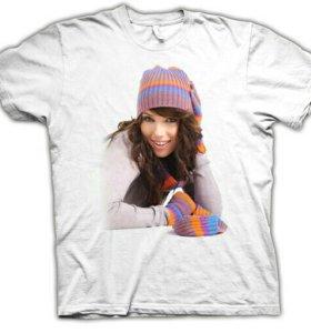 Фото на футболке