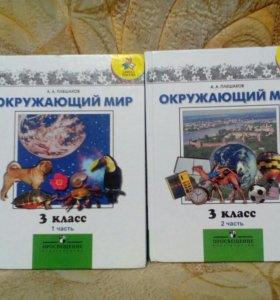Книги Окружающий мир А.А.Плешаков 3й класс
