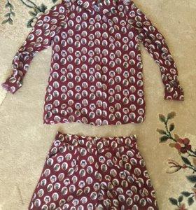 костюм (шорты+рубашка)