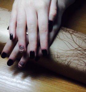 Покрытие ногтей гель-лаком(шеллак)