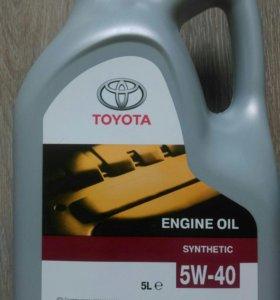 Продам моторное масло Toyota 5w40