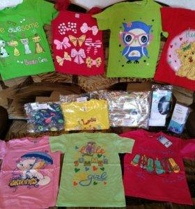 Набор вещей на девочку 4 года