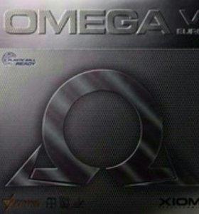 Теннисная накладка Xiom Omega V euro