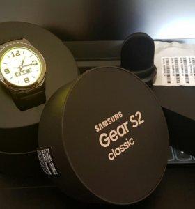 Samsung Galaxy note 5 часы gear s2 classic.