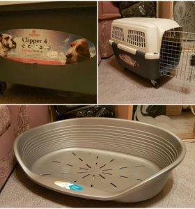 Переноска и лежак для собаки