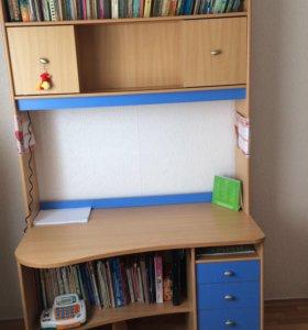 Письменный стол и шкаф (гардероб ) все за 6000