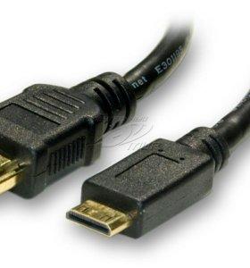 Кабель HDMI-mini HDMI