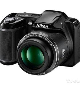 Фотоаппарат Nikon Coolpix L330 Black