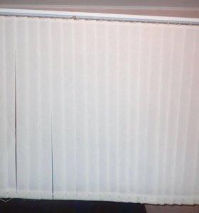 Жалюзи 180х133 белого цвета