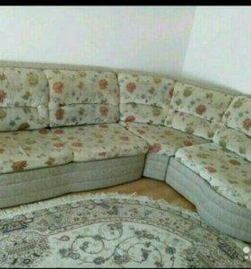 Диван кровать угловой с креслом