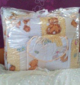 Комплект для новорожденных в кроватку