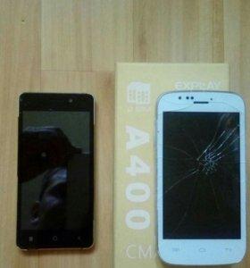 Explay A400 и No909