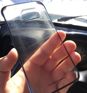 Оригинальный бампер на Samsung galaxy s6 edge