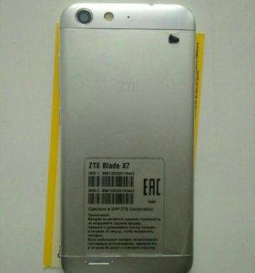 ZTE Blade X7 LTE Dual Silver
